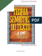 BARROS - Teoria Semiótica do Texto