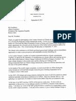 Invitación Biden a Alberto Fernández para la de Energia y Clima