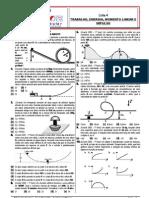 Lista 4 - Trabalho  Energia  Momento Linear e Impulso - Prevupe2008