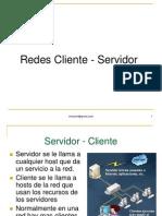 Red Cliente servidor