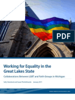 Working for Equality in the Great Lakes State