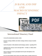 What is World bank and IMF