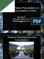 Ben Block Presentation to USAID