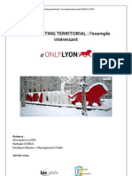 Marketing Territorial l'exemple de la métropole lyonnaise