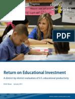 Return on Educational Investment