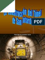 Tunel de San Gotardo-Suiza.