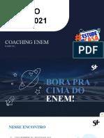 Coaching Enem - 6º Encontro - Prioridades