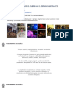 2da - CCC. PERFORMANCE EL CUERPO Y EL ESPACIO ABSTRACTO