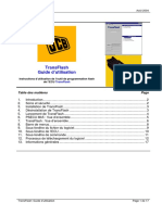 JCB TransFlash French User Guide - Issue 0.2