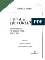 Domenico Losurdo - Fuga Da História - A Revolução Russa e a Revolução Chinesa Vistas de Hoje-Revan (2004)