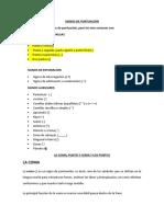 SIGNOS DE PUNTUACIÓ (coma, punto y coma y puntos) san luis