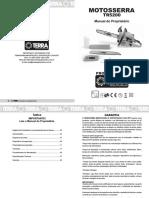 Manual Motosserra TERRA