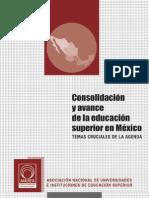 Consolidación y avance de la educación superior en México