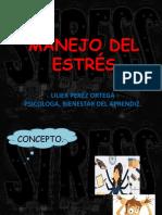 DIAPOSITIVAS MANEJO DEL ESTRES