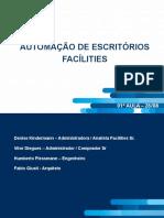 1º aula - Apresentação Facílities - 2019