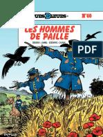 N°40 (LES HOMMES DE PAILLE)