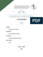 MONOGRAFÍA - ANAMNESIS SEMIOLOGÍA GERIÁTRICA