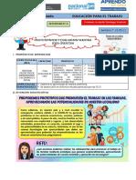 EdA N° 2 - Guía 3 - Actividad 3 - EPT5º  31-05-21