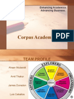 Corpus Academics