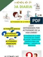 CLASE 1 ACTIVIDADES DE LA VIDA DIARIA, ENFERMEDAD, DISCAPACIDAD Y DEPENDENCIA (1)