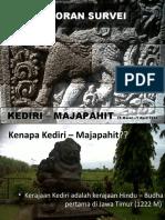 LAPORAN SURVEI KEDIRI MAJAPAHIT