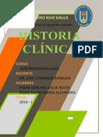Segunda Historia Clínica.