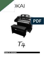 manual tokai t4