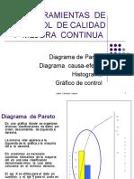 HERRAMIENTAS  DE CONTROL  DE CALIDAD Y  MEJORA  CONTINUA