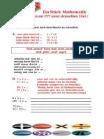 Ein Stuck Mathematik Ab Arbeitsblatter 54842