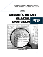 Folleto  ARMONIA  DE LOS  4 EVANGELIOS 09
