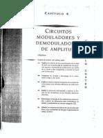 Cap 4 Circuitos Moduladores y Demoduladores de Amaplitud