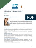 Fiche E1103 Charge de Communication MER