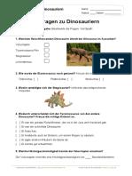 10 Fragen Zu Dinosauriern