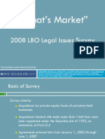 Kaye Scholer M&A Survey 2008 from flash drive provided