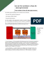 Introduction Sur Les Systemes a Base de Microprocesseur