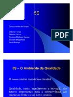 5s apresentação