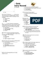 Final written test Format--final