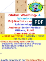 Global Warming- A Warning