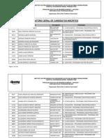 Listagem Das InscriÇÕes Deferidas