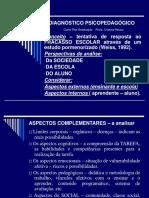 Diagnóstico psicopedagógico e avaliação psicopedagógica