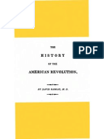 The History of the American Revolution Vol I