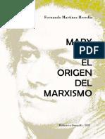 Marx y el origen del marxismo
