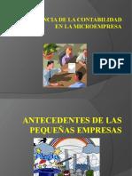 IMPORTANCIA DE LA CONTABILIDAD EN LA MICROEMPRESA