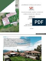 Programa arquitectonico Hacienda Pilcomarca