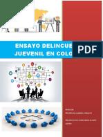 ENSAYO DELINCUENCIA JUVENIL EN COLOMBIA