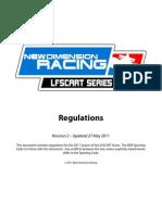 LFSCART Series 2011 Rulebook