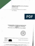 Guardia Civil-Informe de Investigación Patrimonial-Jorge Fidel Rodríguez Gaspar