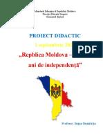 Proiect-didactic dirigentie -Moldova-un sfert de veac, 01.09.2016 (Восстановлен)