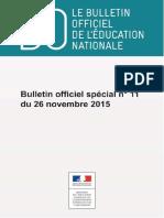 Bulletin Officiel-programme-technologie-cycle-4