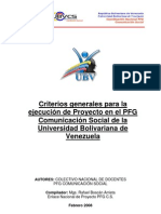 Documento Final Criterios Generales de Proyecto Version 2011